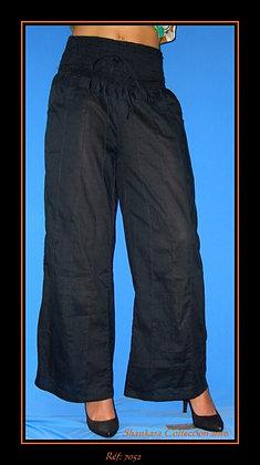 Pantalon - noir - 7052PT