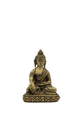 Statue Bouddha Ratnasambhava assis Bronze N320