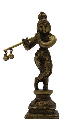 Statue Krishna  Bronze N341