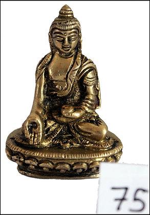 Statue Bouddha Shakyamuni/Gautama assis  Bronze N75