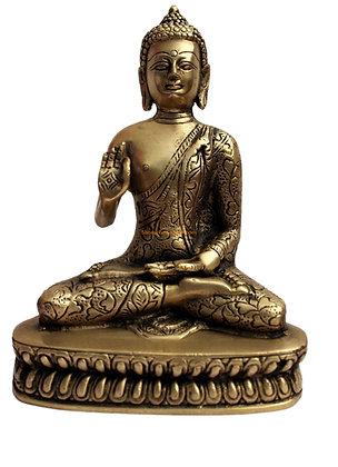 Statue Bouddha Amoghasiddhi Bronze N47