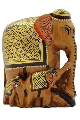 Statue Elephant Bois N306