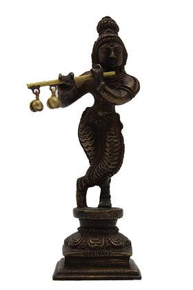 Statue Krishna  Bronze N342