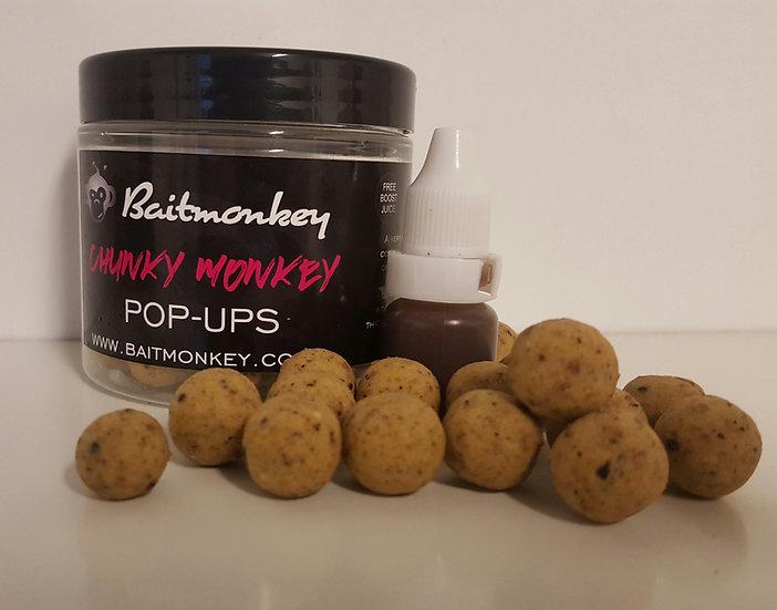 CHUNKY MONKEY POP-UPS