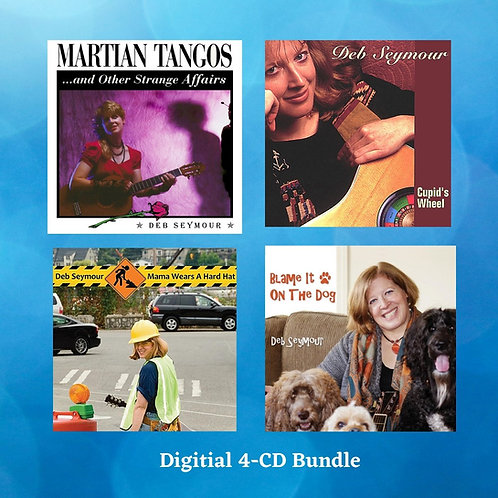 4-CD Digital Package