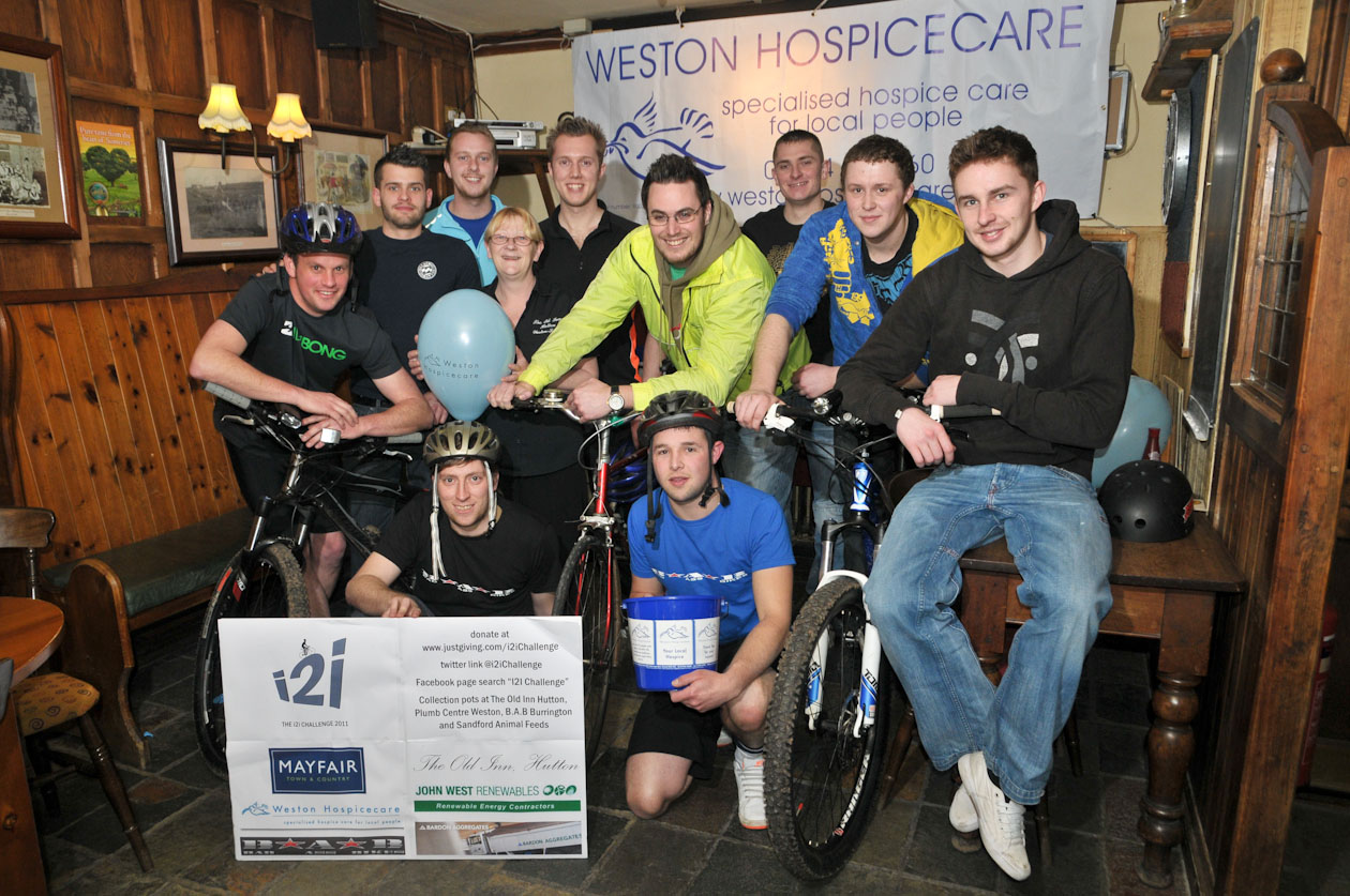 Seniors ride to London for Hospice