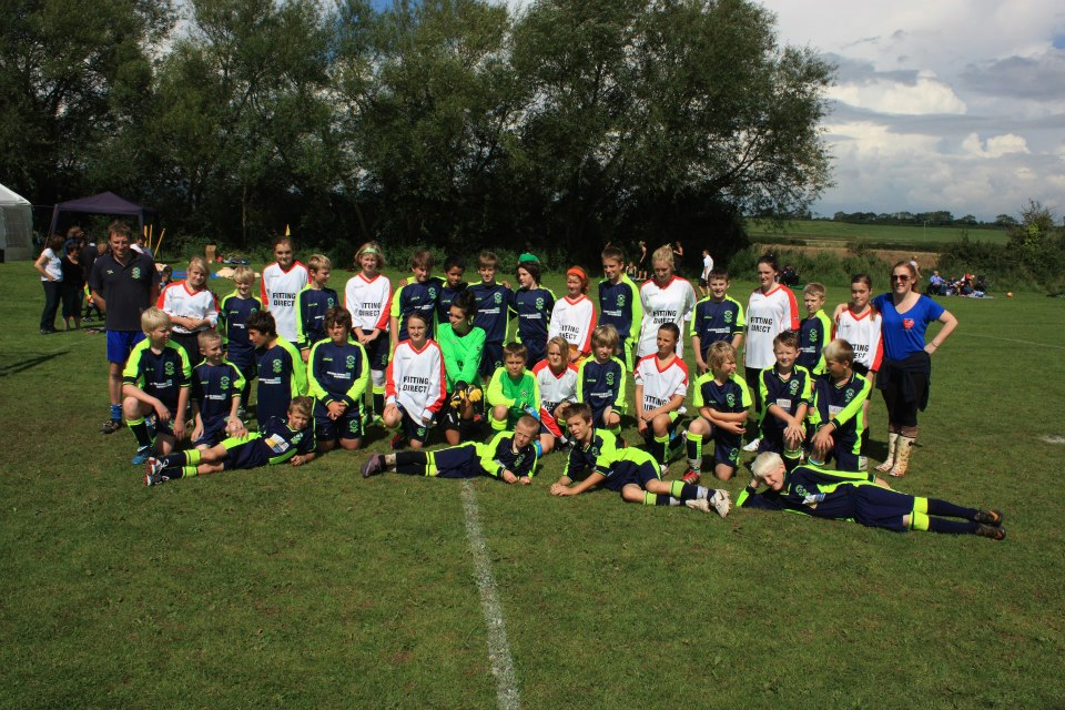 The Under 13's and Under 14's Girls