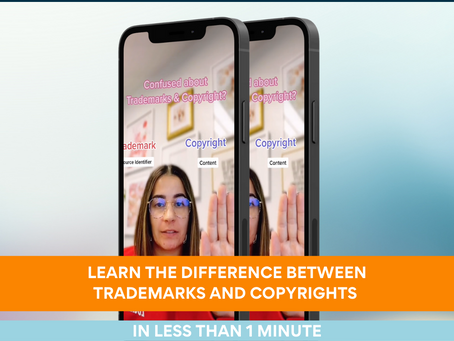 Trademark v. Copyright: Learn the difference is less than 1 minute