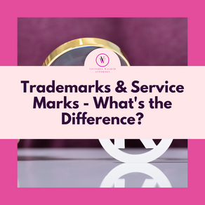 Trademarks and Service Marks - What's the Difference?