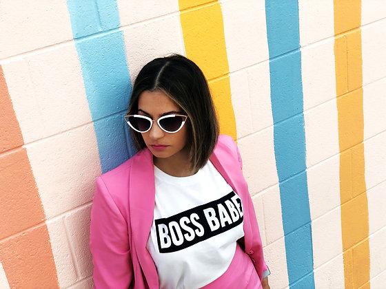 Boss Babe Crop Top