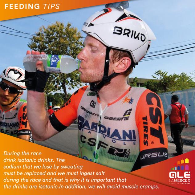 Feeding tips per Alé La Merckx