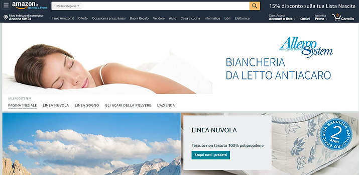 Amazon Store di AllergoSystem