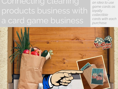 Cleaning products and card games