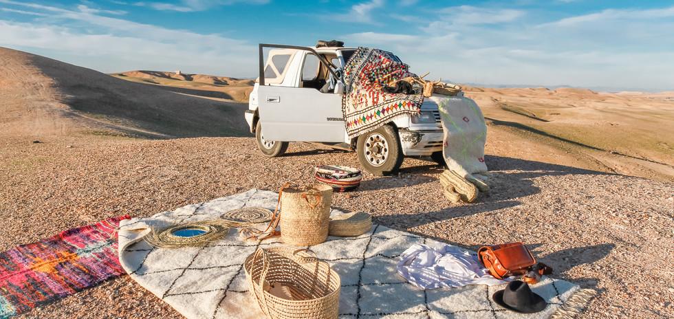 Tapis Berbere Soukcircus Marrakech Tapis