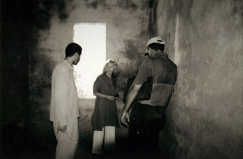 Le chantier du riad à marrakec