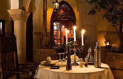 Restaurant du Riad et cuisine marocaine