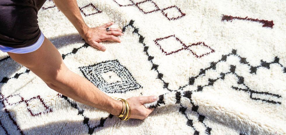 Tapis Berbere Soukcircus Marrakech