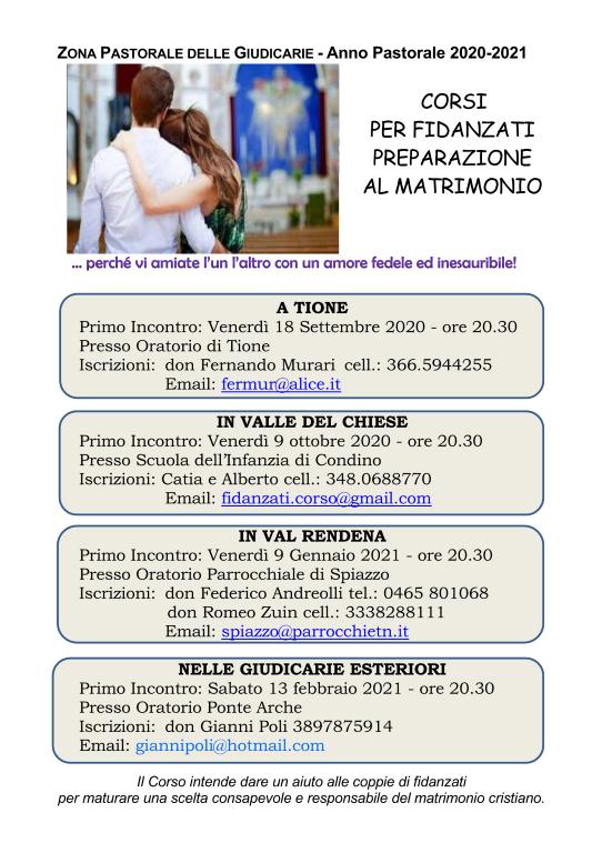 Locandina corso fidanzati 2020 - 2021.pn