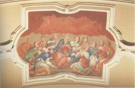 Chiesa - Affreschi - Discesa dello Spiri