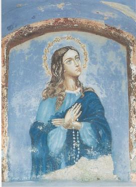 Capitello Madonna del Campel - Affresco