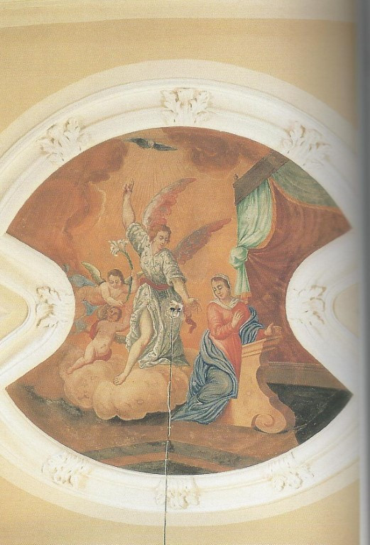 Chiesa - Affreschi - Annunciazione di Ma