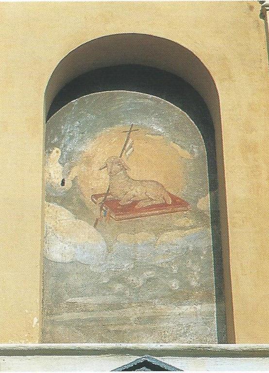 Chiesa - Affreschi Nicchie esterne - Agn