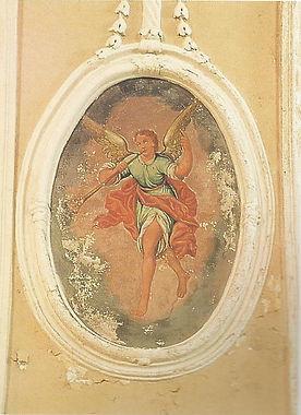 Chiesa - Affreschi - Angelo musicante 1.