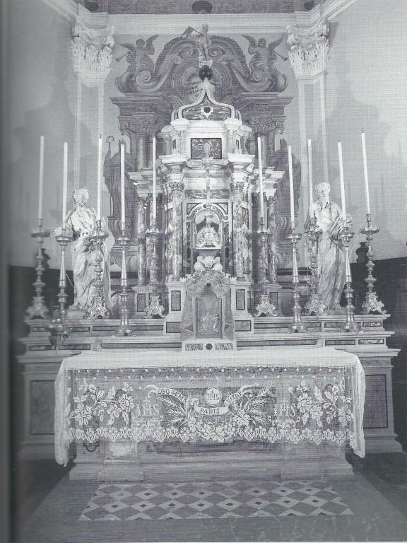 La Chiesa - Altare Maggiore o di S. Mich