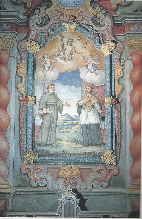 Chiesa - Affreschi - Pala altare di S. G