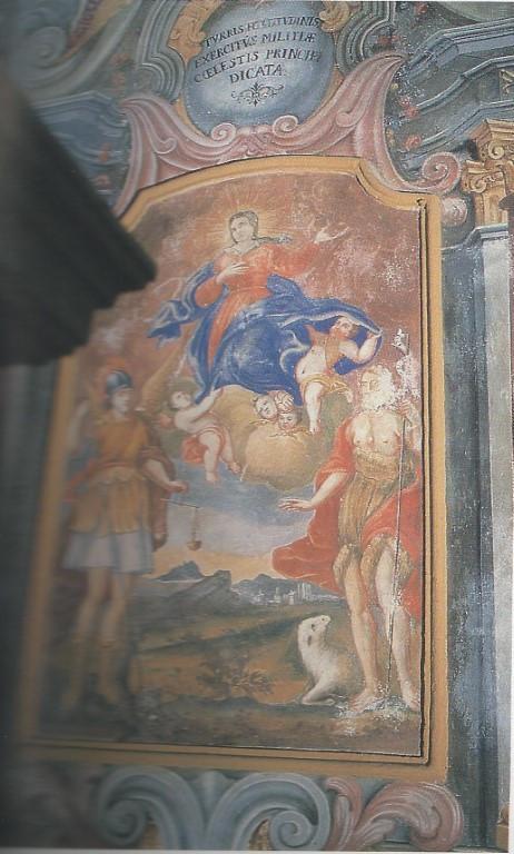 Chiesa - Affreschi - Pala di S. Michele