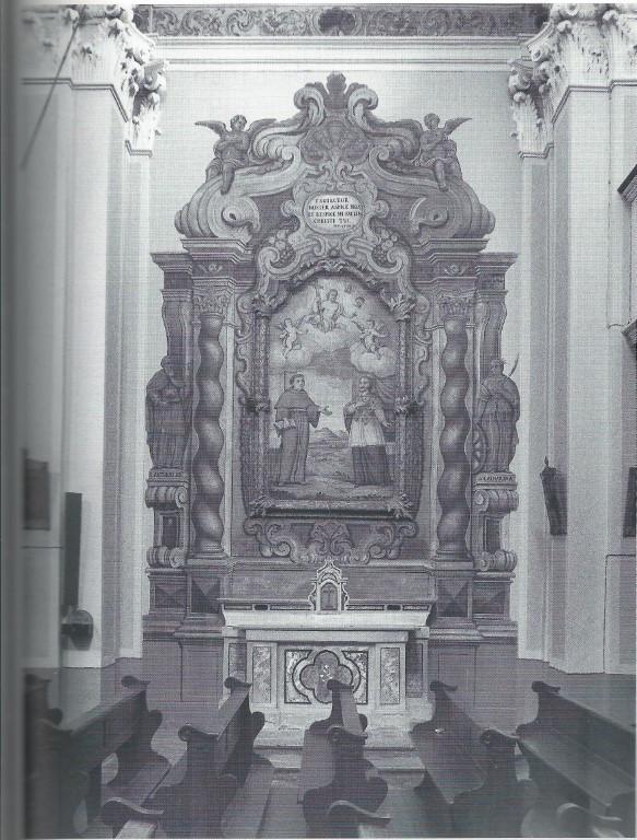 La Chiesa - Altare S. Giovanni Neponucem