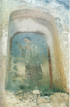 Chiesa - Affreschi Nicchie esterne - S.