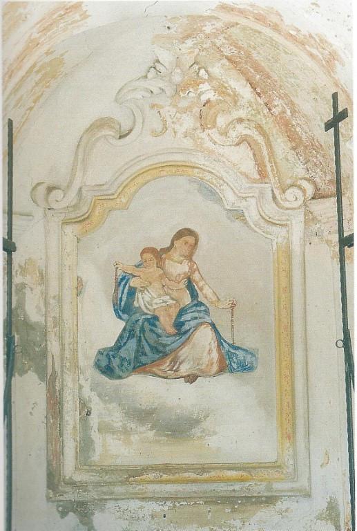 Capitello Madonna del Rosario - Affresco