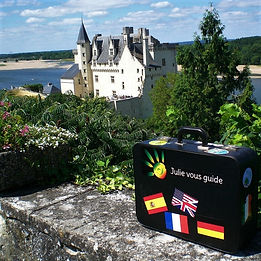 Château de Montsoreau - julie vous guide
