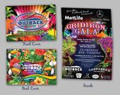 2014 Outback Bowl Grid Iron Gala Invitation