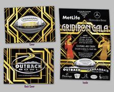 2013 Outback Bowl Grid Iron Gala Invitation
