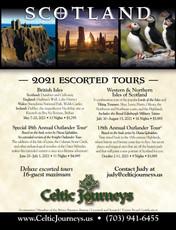 Celtic Journeys 2021Tours Ad