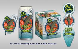 Fat Point Brewing Dawn Patrol designs
