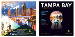 Visit Tampa Bay Newspaper Wrapper