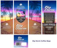 Big Storm Coffee designs