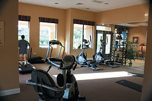 Rio Vista Village exercise room