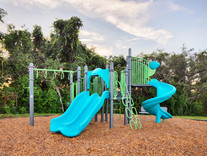 Kids will have fun on this playground