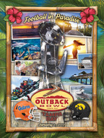 Outback Bowl Program Cover 2017