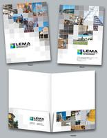 LEMA Construction pocket folder