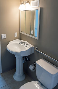 A sample bathroom