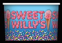 Sweet Willy's cup design