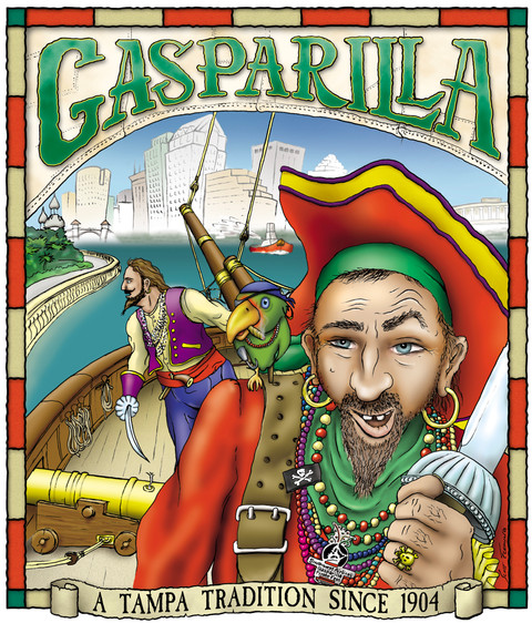 Gasparilla Festival Program Cover
