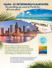 Visit St. Pete/Clearwater & Visit Tampa Combo