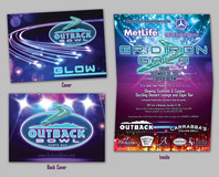 2011 Outback Bowl Grid Iron Gala Invitation