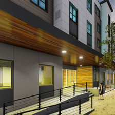 Ashley Square Rendering